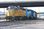 UP 1420 heads up a string of 5 legacy EMD motors that are chomping at the bit to cross the Mississippi