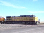 UP 6633 heads an eb coal consist