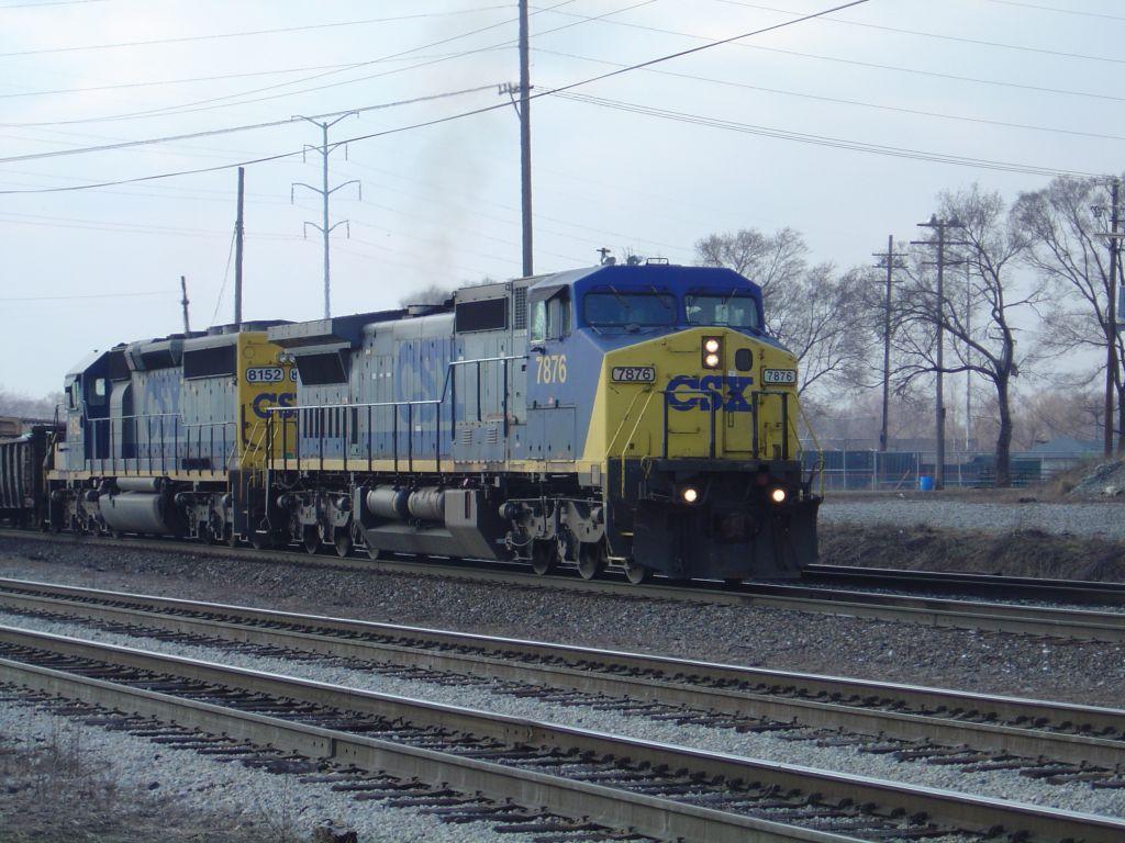 CSX 7876