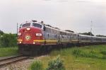 Northbound Canyon Train