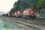 Eastbound unit coke train