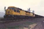 Eastbound coal train