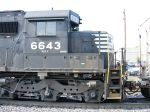 Cab shot of 6643 (SD60)