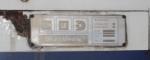 Metrolink 874 ID plate
