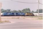 Westbound Intermodal train