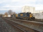 CSX 8839 & 8842 lead a southbound mixed freight