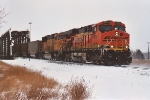 Westbound empties depart after setting out bad orders