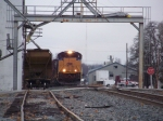CSX 4846 leads a southbound at Franklin, Ky 12:35pm 12/15/2008