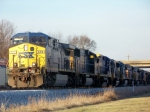 CSX 470 and 9 others head up Q525 1/2/2009