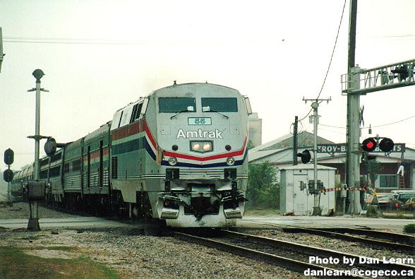 Northound Amtrak