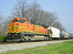 BNSF 851 On NS 123 Eastbound