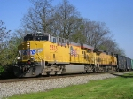 UP 5533 On CSX 501 Eastbound
