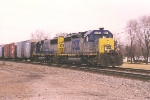 Southbound autoparts train