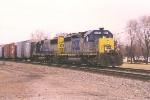 Southbound autoparts train