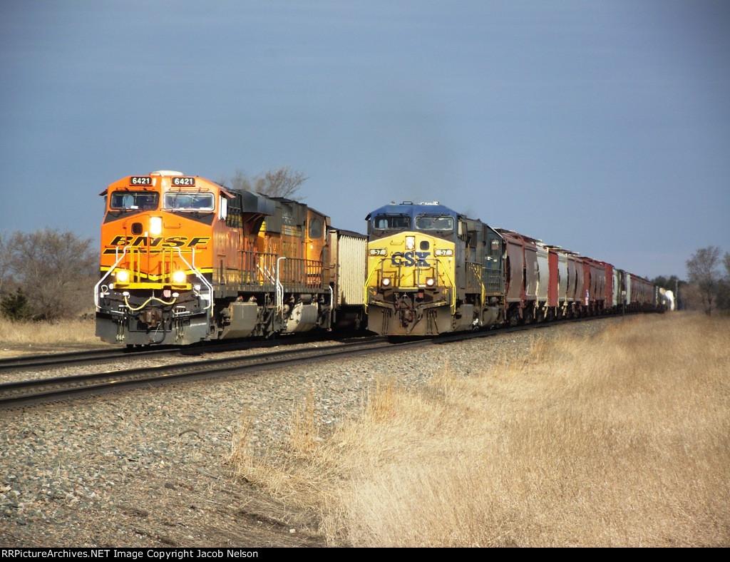 BNSF 6421