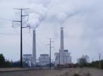 Coal empty power at the Becker Xcel Energy Plant