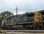 CSX 435 on an EB coal drag