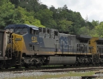 CSX 435 on an EB coal drag