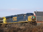 Several minutes later CSX 812's crew is back and ready to resume their trip East to Richmond, VA