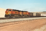 Empty coal train heads back to the PRB