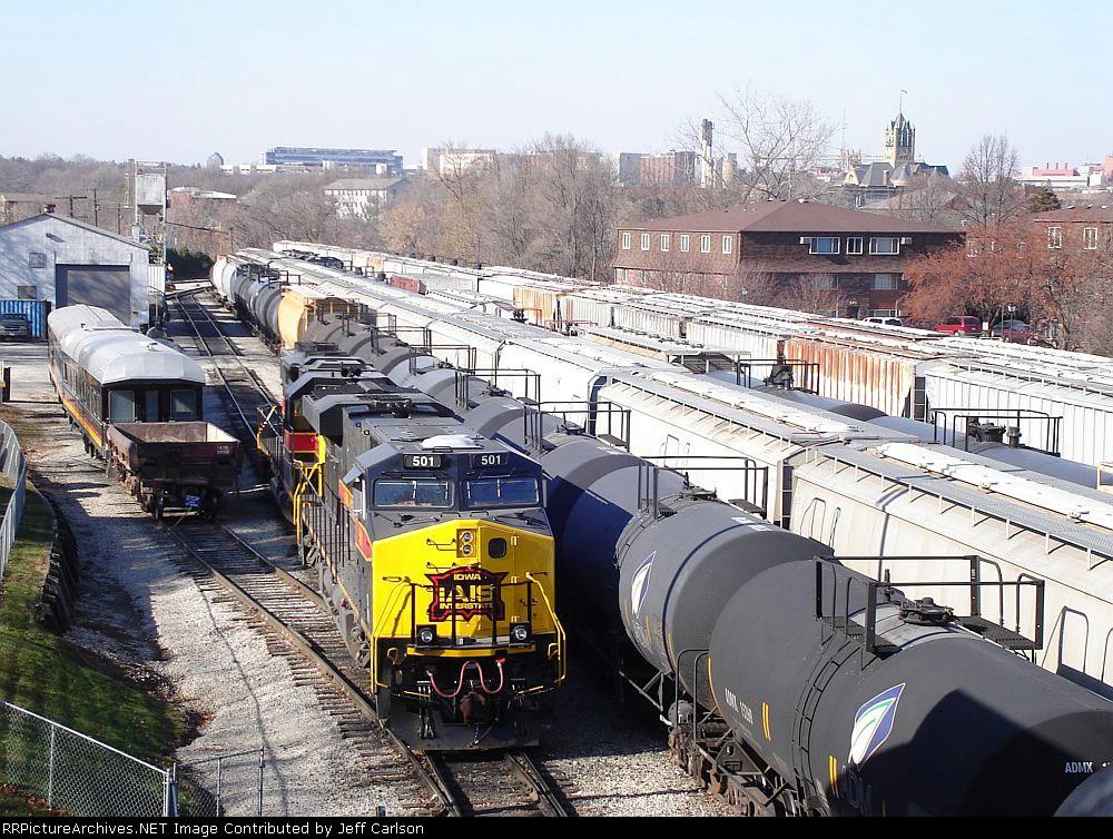 IAIS' Iowa City Yard