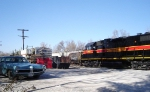 Iowa City yard scene