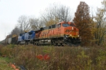 BNSF 5853 heads up the PM