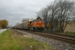 BNSF 703 east on the wrong main