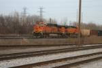 BNSF 6093 waits at CP 487
