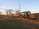 CSX 8815 & 4419 & NS 1700