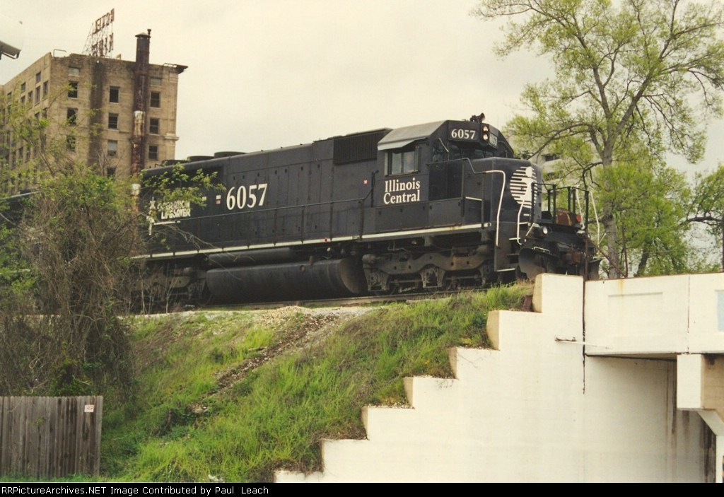 Southbound manifest pauses at the switch tender