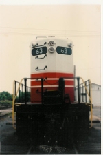 IORY 63 at the ex C&O (HV) yard at Oldtown, date unknown