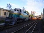 EFVM 886 with Train P02
