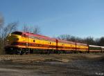 Northbound KCS 2008 Holiday Express Train