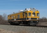 Southbound SRS Rail Flaw Detector Car