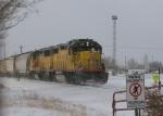 UP Yard Job Train Switching