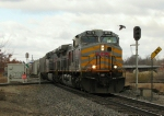 Southbound KCS Manifest Crossing the Diamond