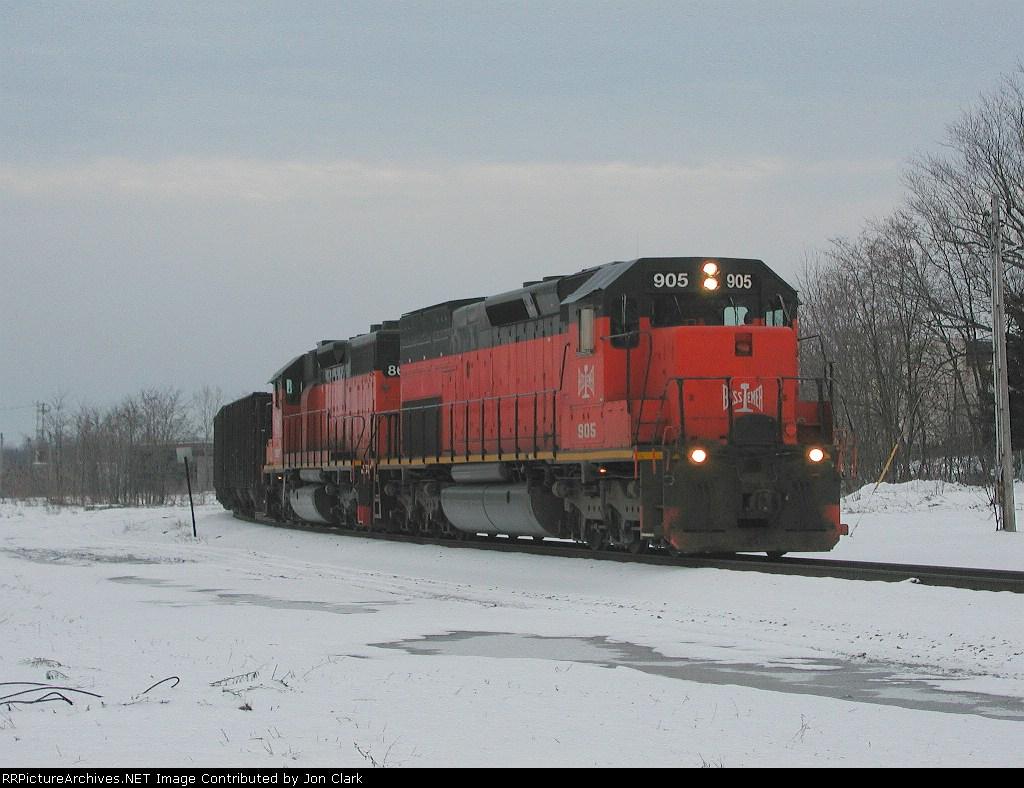 BLE Train 867 South