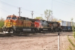 Intermodal picks up tonnage about Midway Yard