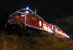 CP's 2008 Holiday Train in Hamilton.
