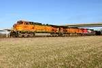 BNSF 5254, BNSF 4389, and FXE 4665