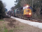 CSX 4554 leading the pack