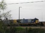CSX power in Thomasville,Ga