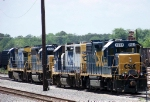 CSX power in Thomasville, Ga