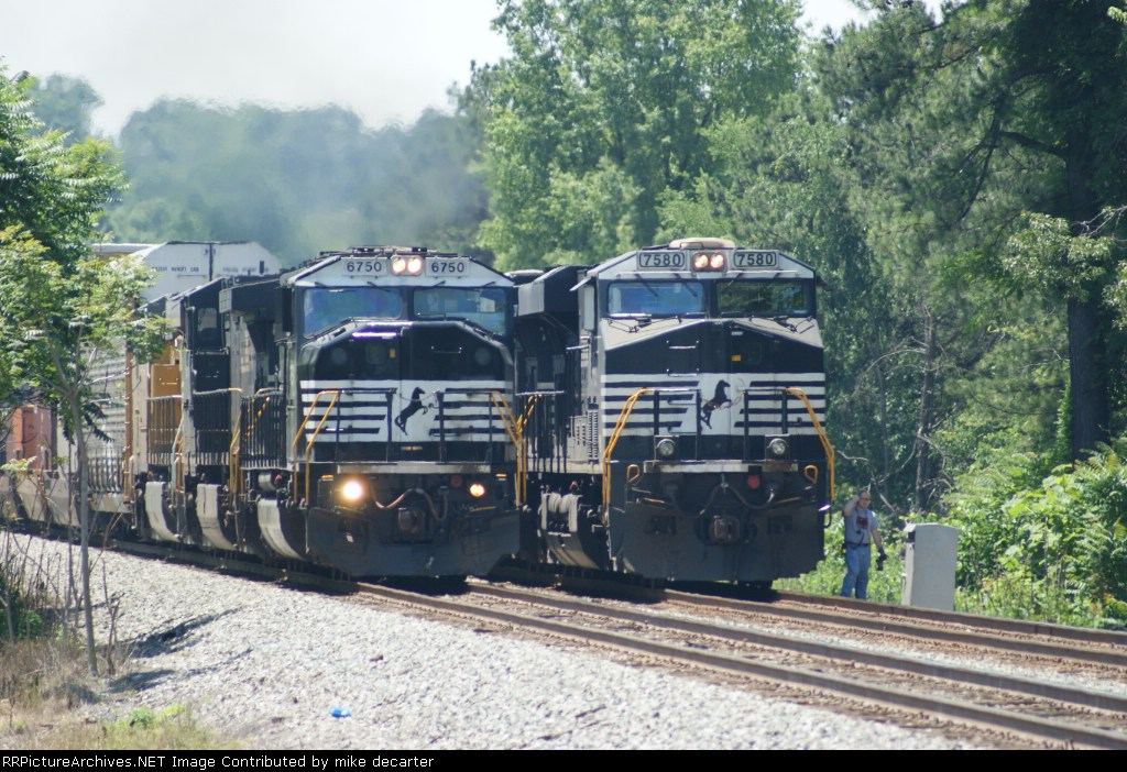 NS 6750 leads NS 212 past NS 753 with new UP engine