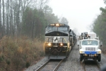 NS 9229 passing section truck
