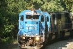 NS 5419 Conrail SD-50 leads NS 11R south on the B line
