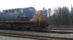 CSX 4 & 8576 Rest at Bostic NC