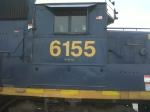 CSX 6155 Ex GP40-2 to GP38-2S Rebuild