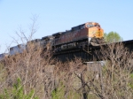 BNSF on Norfolk Southern